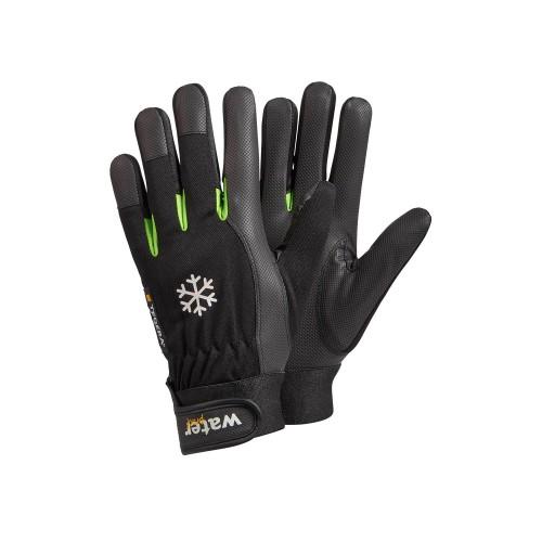 Ejendals Work Gloves TEGERA 517 Black/Green
