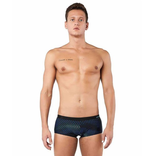 Mad Wave Mens Swimshorts ESCAPE Black/Blue