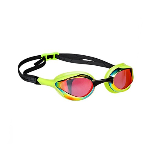 Mad Wave Swimming Goggles ALIEN RAINBOW Green